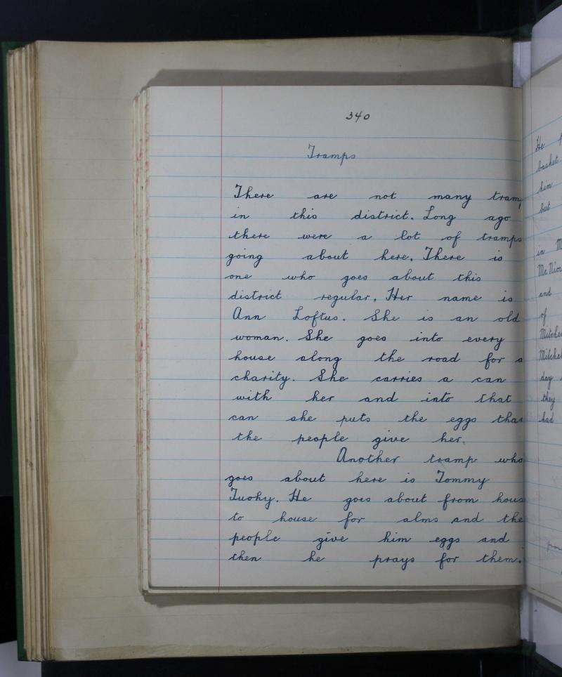 Irish Folklore Commission 1937 Shanvaghera