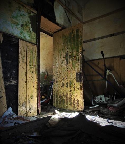 Reyrawer National School. Co. Galway 1883 Light through the Door