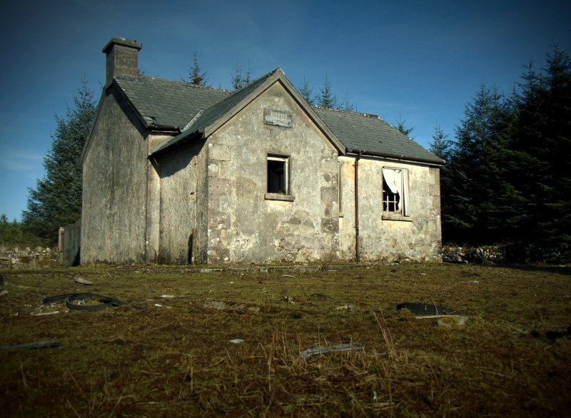 Reyrawer National School, Slieve Aughty Mountains Co. Galway
