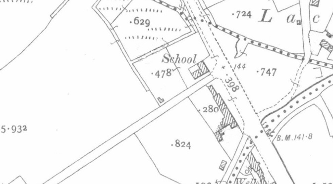 Lackagh National School, Knocknagroagh townland, Co. Sligo