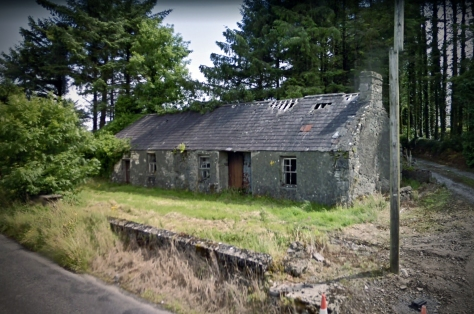 The Pre-1935 school House at Shanvaghera