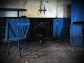 Whiddy Island NS Co. Cork 1887 Classroom Interior with Chair