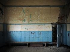 Carrigan NS Co. Cavan 1897 Interior School Blue Room Doorway