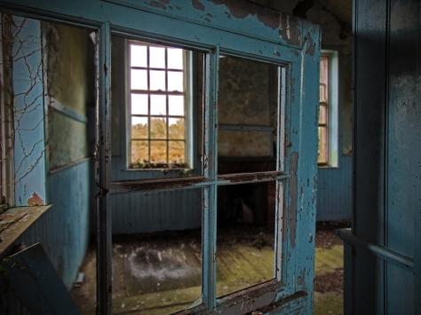 Carrigan Co. Cavan 1897 Interior School Room Blue Interior Doorway