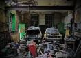 Gaigue NS Co. Cavan: Now a mechanic's workshop