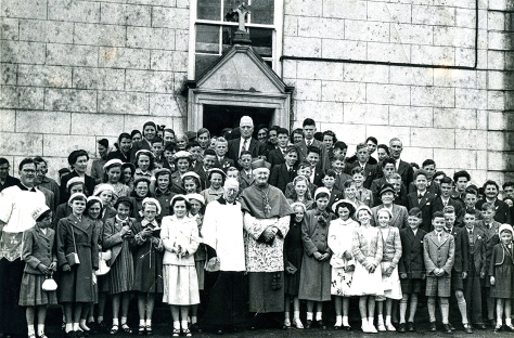 The legacy of the denominational origin and control of education since the nineteenth century. - 1954 Co. Galway Castlegar Confirmation