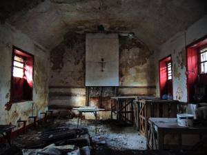 Mastergeehy NS. Co. Kerry 1870-1890 Classroom Interior