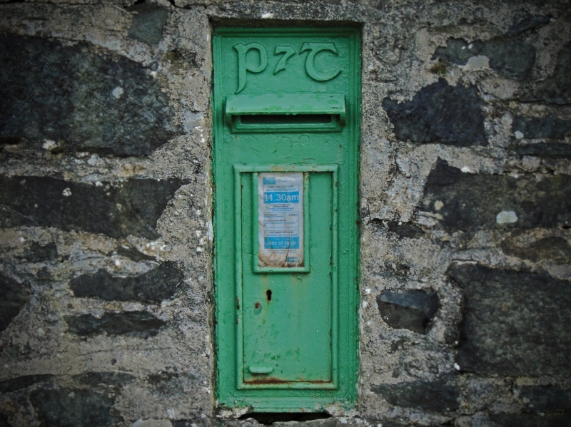 Corvoy Ns Co. monaghan 1902 Postbox