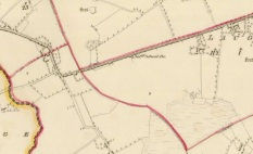 Laughil Co. Longford First Edition OS Map