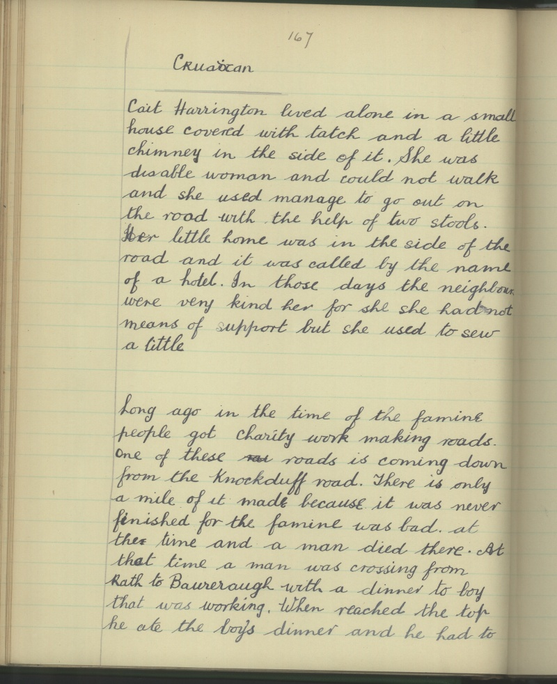 Gortnabinny NS, Co. Kerry Schools Folklore Collection Page 22
