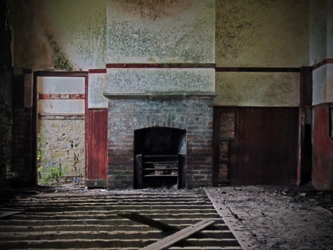 Drumreilly NS Co. Leitrim 1897 Fireplace
