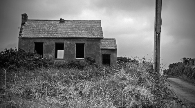 The Disused School Houses on Dunmanus Bay, Co. Cork