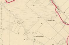 tiyrone-school-1st-edition-6-inch-map