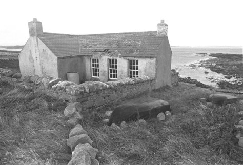 Abandoned Schoolhouse on Gola Island in 1969