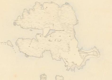 Gola Island First Edition OS Sheet