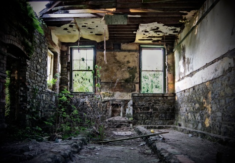 Rathmullan National School, Co. Sligo- ghostly interior