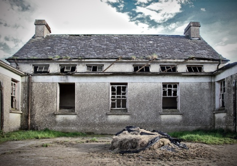Scoil Naofa Brid National School, Co. Roscommon (dated 1951) Exterior showing the circulatory layout of the classrooms