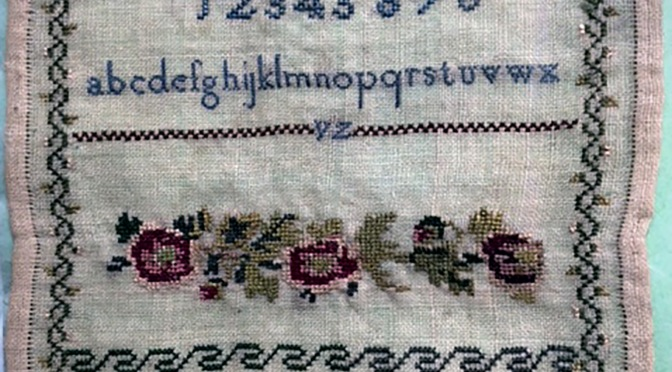 The Needlework of the Pupils of the National Model Female Schools